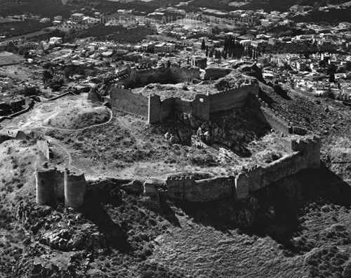 Citadel Larissa, Argos, 2006. copyright photographer Marilyn Bridges