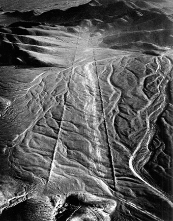 Nazca, Pathway to Infinity, 1979. copyright photographer Marilyn Bridges