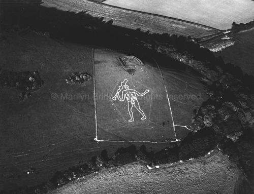 Cerne Abbas Giant Dorset. copyright photographer Marilyn Bridges