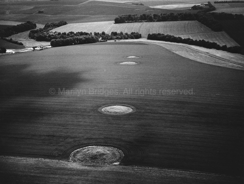 Round Barrows, Wiltshire, 1985.
