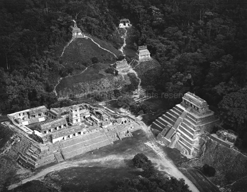 Palenque, 1982. Mexico. copyright photographer Marilyn Bridges