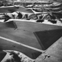 Farmers' Edge, the Badlands, South Dakota 1984. USA Midwest. copyright photographer Marilyn Bridges.