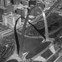 St. Louis Arch, Missouri, 1994. USA Midwest. copyright photographer Marilyn Bridges.