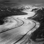 Kahiltna Glacier, Alaska, 1990. USA West. copyright photographer Marilyn Bridges.