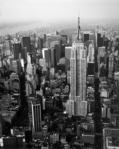 Empire State Building, New York City, 1988. USA New York City. copyright photographer Marilyn Bridges.
