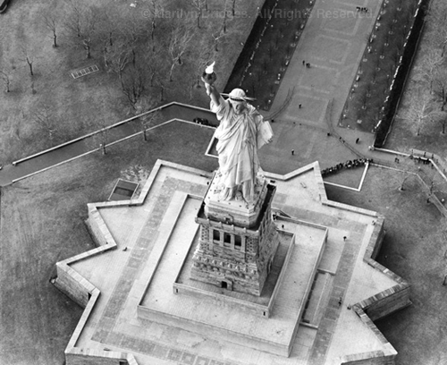 Statue of Liberty 1997. USA New York City. copyright photographer Marilyn Bridges.